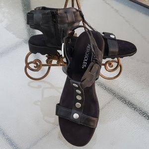 Aerosoles gladiator sandals NWOT